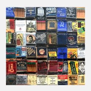 """""""Matchbook Quilt"""" by Kim Fairley 1993"""