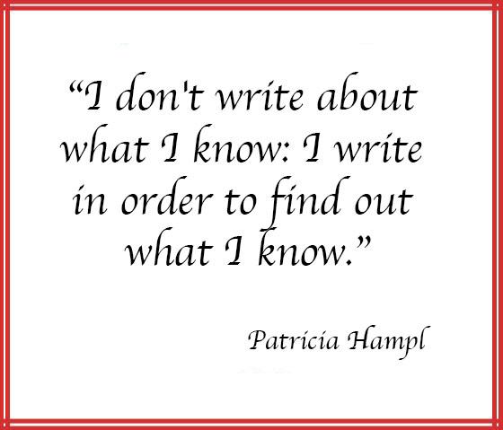 Patricia Hampl quote